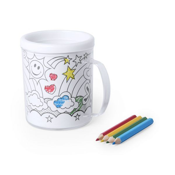 taza coloreable